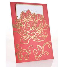 Stampendous Themes » Fran•táge » Cling Jumbo Peony