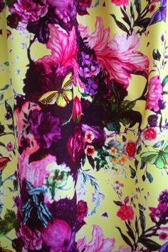 Butterfly Blurr fabric