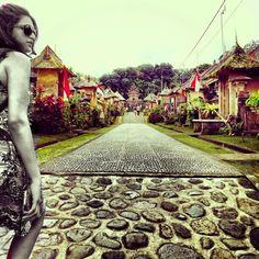 That's me in the corner getting ready to explore #BeautifulBali's quaint #PengliPuran #village! #TravelDiaries #BaliBucketList #TheBaliBible