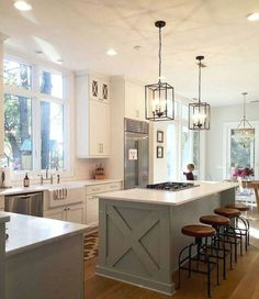 Kitchen Cabinet Ideas - CLICK THE IMAGE for Lots of Kitchen Ideas. 68895842 #kitchencabinets #kitchendesign