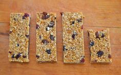 After months of tweaking and changing. After a few catastrophic disasters and many mediocre batches. Homemade Muesli Bars, Bellini Recipe, Healthy Snacks, Healthy Recipes, Lunchbox Ideas, School Lunches, Granola Bars, Recipe For 4, Summer Food