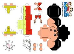 Image detail for -Anime papercraft toy - Crayon shin chan cubeecraft paper model