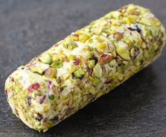 Cranberry Pistachio Cheese Log