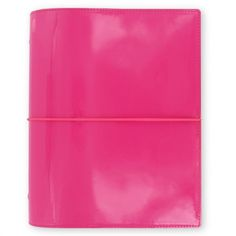 Filofax Domino Planner Binder Organizer Date Book 2016 Hot Pink Patent for sale online