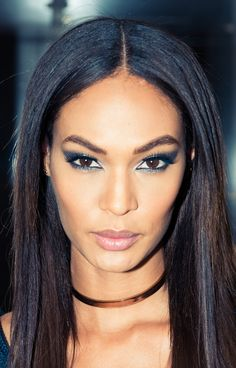 Getting Joan Smalls ready for her night on the town — this stuff is no joke, kids. http://www.thecoveteur.com/joan-smalls-estee-lauder/