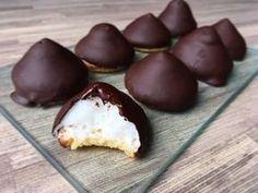 koolhydraatarme en suikervrije chocolade zoenen