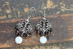 The Night Circus Chandelier Earrings by earthcharms on Etsy