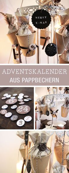 Adventskalender selbermachen: Wir zeigen Dir, wie es geht / how to craft an advents calendar via DaWanda.com
