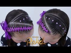 PEINADO INFANTIL/ DIADEMA CON ENCINTADO DE LADO/ Peinados Rakel 82 - YouTube Hair Express, Wild Hair, Cut My Hair, Braided Hairstyles, Hair Extensions, Short Hair Styles, Hair Care, Braids, Hair Accessories