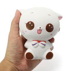 squishy, squishy toy, cute, kawaii, cat, kitten, bg, gift, decor, banggood