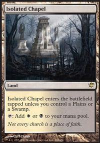 Isolated Chapel, Magic, Innistrad