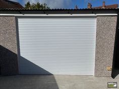 Electric Garage Doors in White are incredibly stylish. With a garage door from Garolla you can enter your garage in style. Click the link below to see our roller shutter garage doors. White Garage Doors, Single Garage Door, Electric Garage Doors, White Doors, Roller Doors, Roller Shutters, Contemporary Garage Doors, Electric Rollers, Shutter Colors