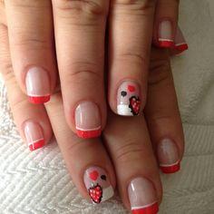 Uñas Nails, Painting, Beauty, Finger Nails, Ongles, Painting Art, Nail, Cosmetology, Paint