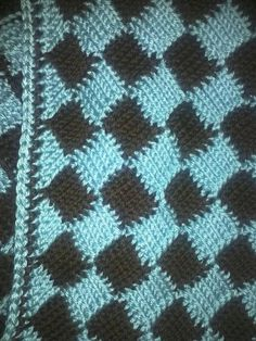 Tunisian Crochet Baby Blanket  -  as soon as I find the instructions!!!