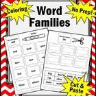 Word Families:  Word family pattern recognition is a key to understanding the complexities of the English language. In this 91 page packet, your st...