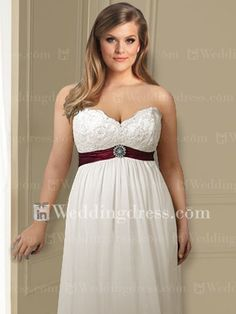 Designer Plus Size Wedding Dresses