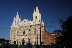 El Salvador- catedral de Santa Ana  <3 my birthplace