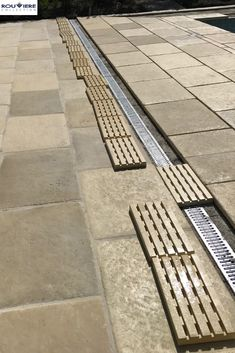 Surface Drainage, Yard Drainage, Drainage Ideas, Modern Architecture House, Classical Architecture, Ancient Architecture, Sustainable Architecture, Landscape Architecture, Landscaping Retaining Walls