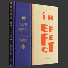 In effect : THE VIRTUAL BOOKSTOR SPEACILIZED IN DESIGN, CREATIVE AND COLLECTING BOOK