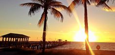 The sun so bright, Lauderdale-by-the-Sea. Courtesy of   FtLauderdaleSun