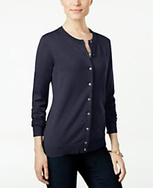 Karen Scott Sweater Cardigan, Only at Macy's