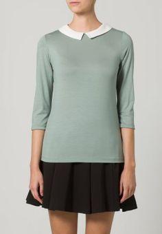 T-shirt - långärmad - grön