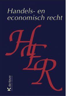 Handels- en economisch recht, geannoteerd wetboek blauwe reeks Die Keure
