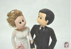 Topo de Bolo Noivos Fofinhos - wedding / biscuit / bride / wedding ideas