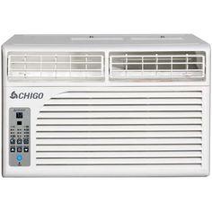 Chigo Energy Star 8,500 BTU Window Air Conditioner with Remote, White