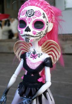 Monster High Custom Spectra 'Day of the Dead' Doll by ...