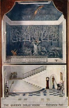 The Queen's Doll House - Entrance Hall