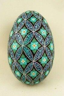 Pysanky (Ukrainian Easter Eggs) and Batik Eggs - by Dore Douty