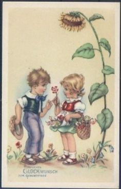 Geburtstagskarte ( K00748 ), Briefmarken-Versand-Welt - Briefmarken, Ansichtskarten und mehr