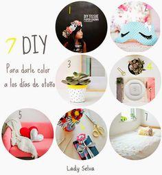 DIY: 7 Tutoriales sencillos para hacer en las tardes de lluvia. http://adictaaloscomplementos.blogspot.com.es/