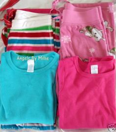 Aeropostale XS Children's Place XL 14 Sleep Pajama Shirt Fleece Pants Lot Set | eBay