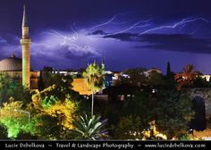 Turkey - Antalya - International sea resort located on the Turkish Riviera - Thunderstorm over Kaleiçi - Antalya's old town | Flickr - Photo Sharing!