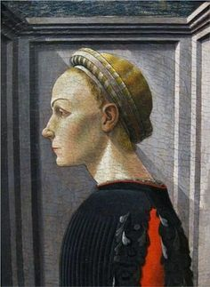 Paolo Uccello (Italian artist, 1397-1475) Portrait of a Lady