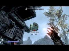 Skyrim: How to get TELEKINESIS! (Unique Spells #1) | Apprentice Alteration - YouTube
