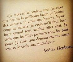 Audrey Hepburn : C'est la magnifique l'histoire d'une actrice devenue une légende. En plus de sa philanthropie, Audrey Hepburn a marqué pour toujours