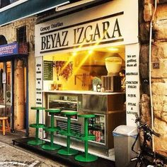 Beyaz Izgara in Istanbul - While you walk around the Grand bazaar you first get the smell and look for this small shop that offers fast and great taste options,any thing you got is absuletly delcious