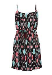 multi-color patterned dress - maurices.com