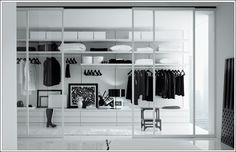 玻璃門衣櫃+窗簾