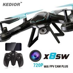 X8SW Fpv Wifi Ufo Drone with Camera HD Gopro Rc Quad copter 2.4G Professional Dron HD 720P Flying Camera Helicopter
