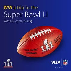 WIN A TRIP TO @nfl SUPER BOWL LI!  Just tap & pay with Visa contactless, on card or mobile, & LIKE this post to be in with a chance of winning!  #Tapdown #SuperBowl #Houston #NFL #football #contactless Courtesy of Visa. T&Cs apply. Ends 12.01.2017. UK residents only, 18+. One entry per person. See visa.co.uk/superbowl