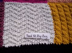Best knit tutorial j have come across! Patterns-Knit Squares. So many patterns