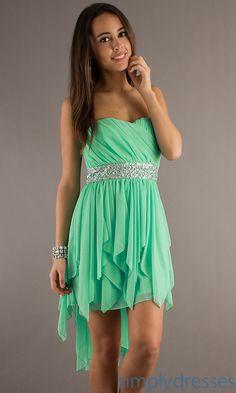 Main Image - Lulus Cutout Back Tea Length High/Low Dress | Gala ...