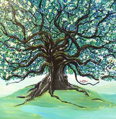 oak tree painting - Google Search