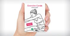 WorkoutLabs Exercise Cards for who likes to run or exercise without apps and devices.