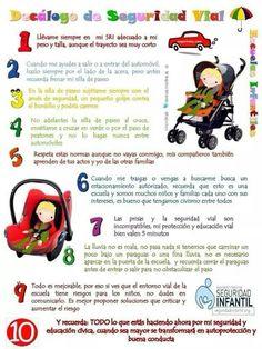 Decalogo de seguridad infantil