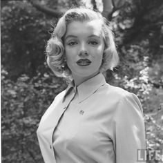 Marilyn Monroe photographed by Edward Clark for LIFE Magazine, August 1950.